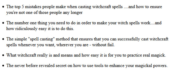 A comprehensive guide to practising witchcraft