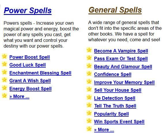 Power Boost Spell Good Luck Spell Enchantment Blessing Spell