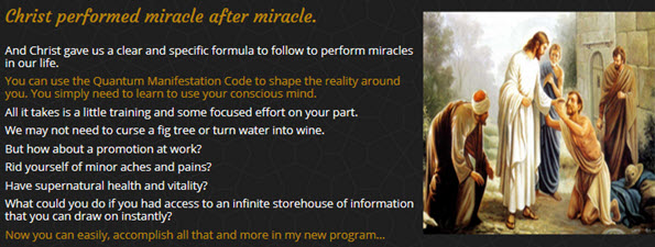 Christ gave us a clear and specific formula to follow to perform miracles in our life.