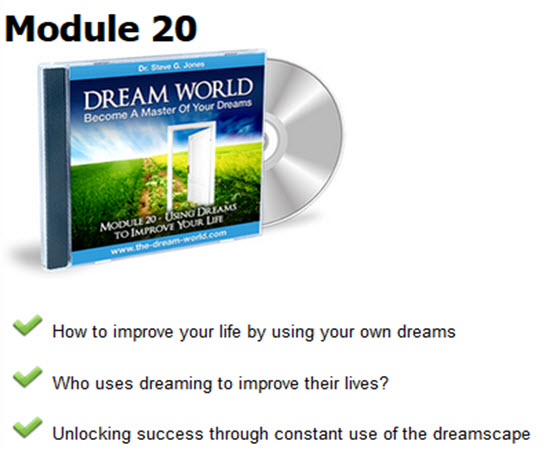 Establishing mastery and dominance in your own dream world and dreamscape