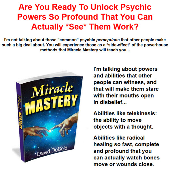 the powerhouse methods that Miracle Mastery