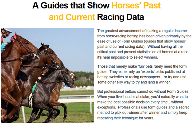 Horses-Past-Current Racing Data