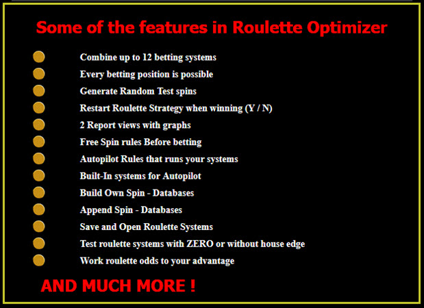 Work roulette odds to your advantage