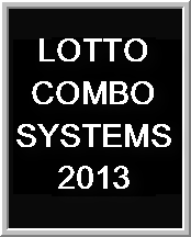 Lotto Combo Systems 2013