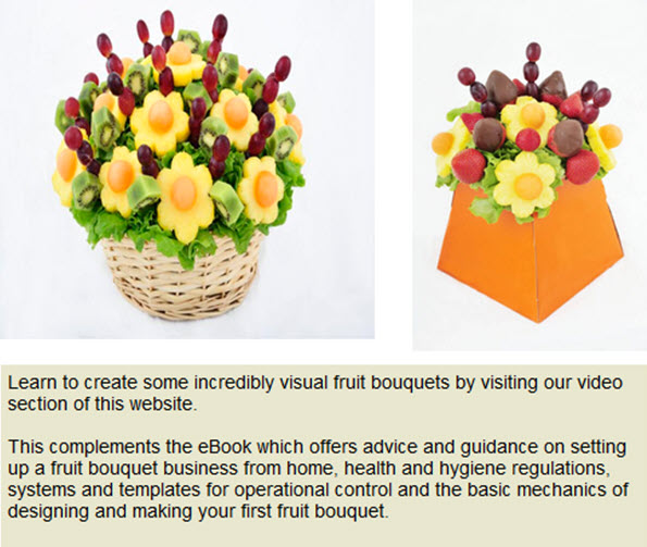 Create Stunning Fruit Arrangements with the Leading International Training School for Fruit Bouquet Makers