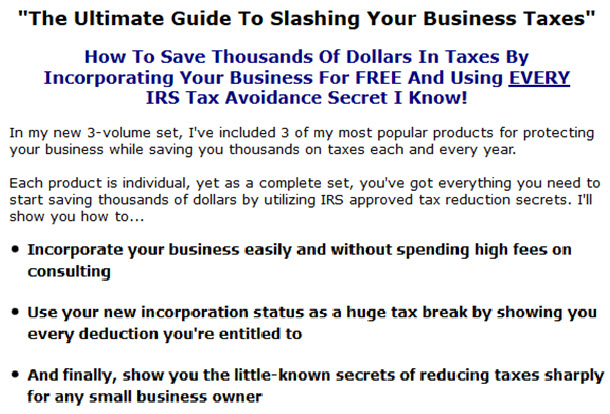 The Ultimate Guide To Slashing Your Business Taxes