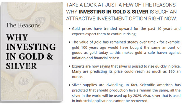 Why Investing in Gold & Silver