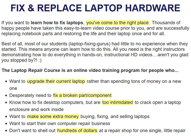 FIX & REPLACE LAPTOP HARDWARE