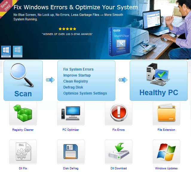 Fix Windows Errors & Optimize Your System