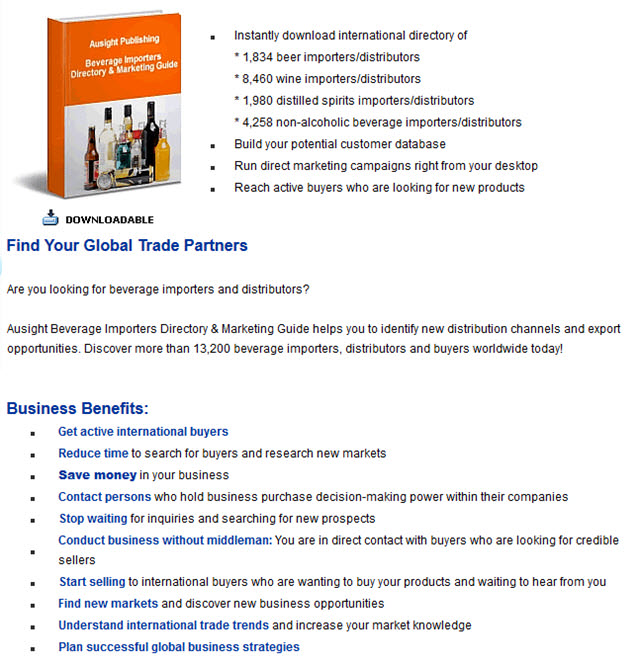 Ausight Beverage Directory & Marketing Guide 2013