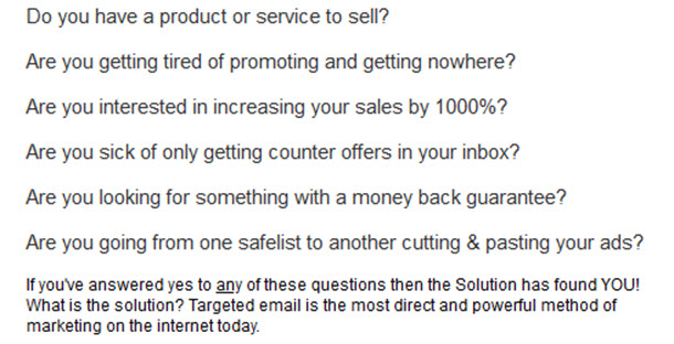 Do you have a product or service to sell