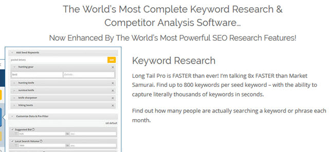 Most Complete Keyword Research
