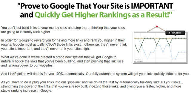 build links to your money sites