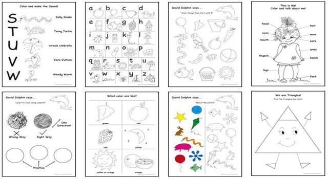3 to 4 Year Old Workbooks