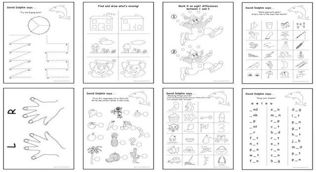 5 to 6 Year Old Workbooks
