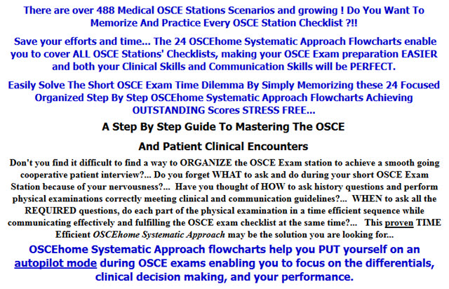 A Step By Step Guide To Mastering The OSCE