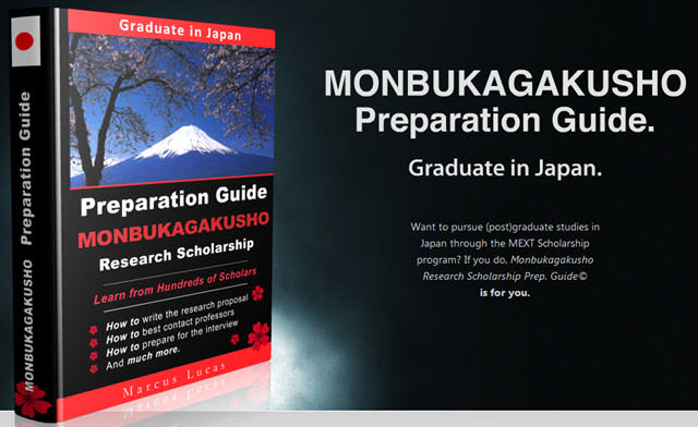 Monbukagakusho (MEXT) Research Scholarship (2016-2017) Application Guide