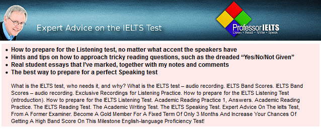 Professor IELTS