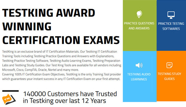 Testking-award-winning-certification-exams