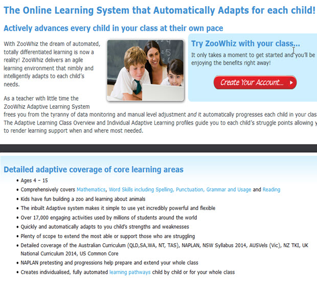 The Online Learning System that Automatically