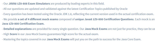 java certification questions