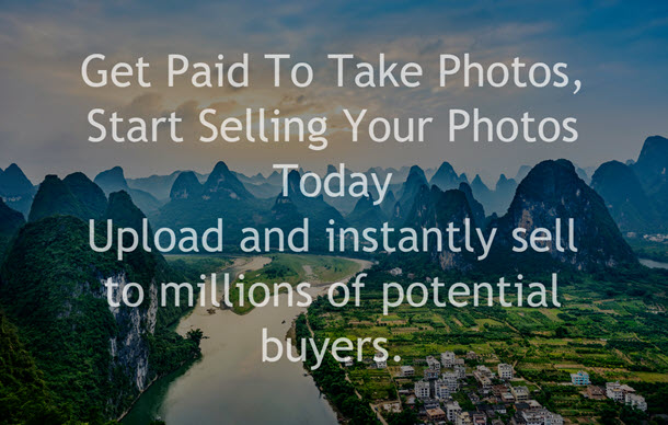 Get Paid To Take Photos