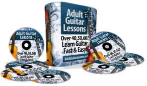 ADULT GUITAR LESSONS Easy Guitar Lessons for Active Adults Discover Insider Secrets On The Guitar Like