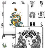 "Dragon Tattoos-""Who Else Wants To Get Their Hands On Over 300 Rare And Cool Dragon Tattoos?.."