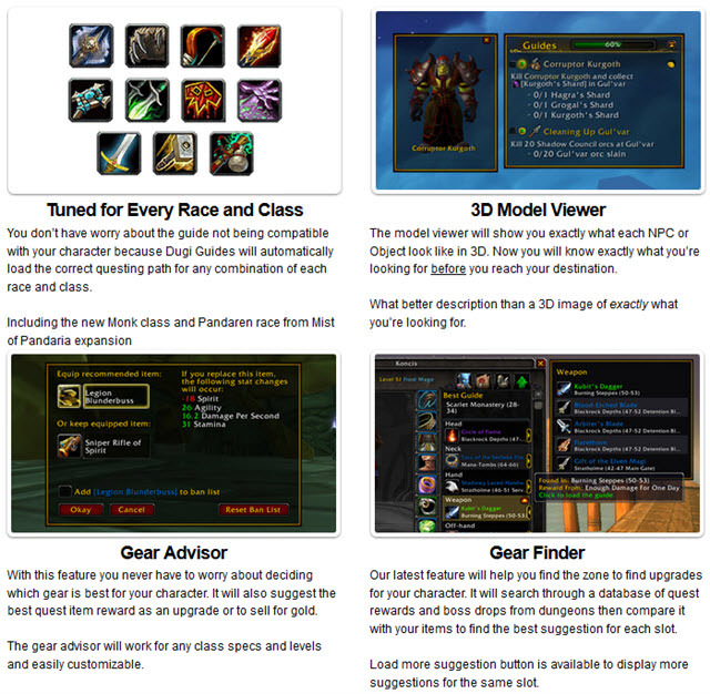 Warlords of Draenor (1-100) Automated Leveling Guides