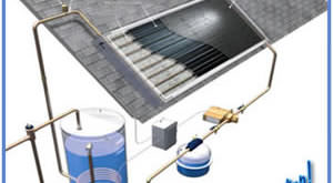 build your own solar water heater plan
