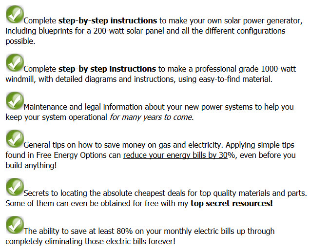 Free Energy Options