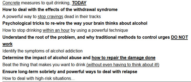 Learn How to Stop Drinking