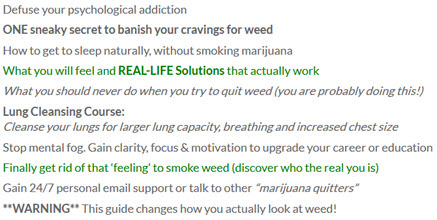 Quit Marijuana: The Complete Guide
