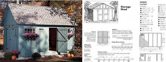 Get Access To 12,000 Shed Materials List & Blueprints