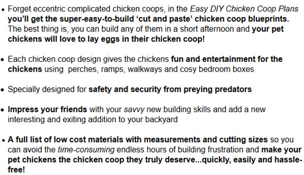 Easy DIY Chicken Coop Plan
