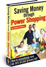 Saving Money through Power Shopping