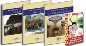 How To Build your own Tiki Bar, Hut and Furniture Series
