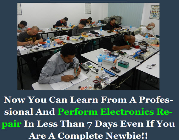 Perform Electronics Repair