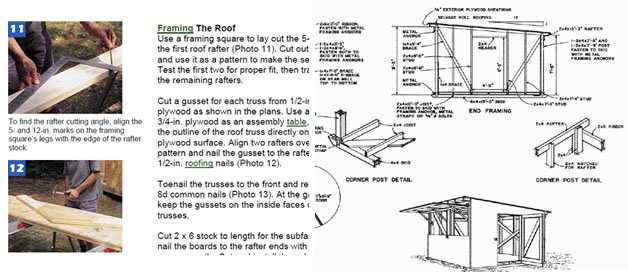 shed plans With Step-By-Step Instructions & Easy To Follow Guides