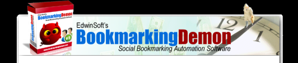 EdwinSoft's SOCIAL BOOKMARKING DEMON-Social Bookmarking Software, Social Bookmarking Tool Social Bookmarking Automation Software Blog Comment Software