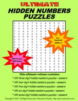 Ultimate Hidden Numbers Puzzles