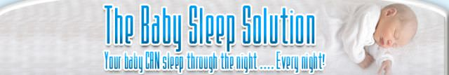 THE BABY SLEEP SOLUTION AUDIO PROGRAM