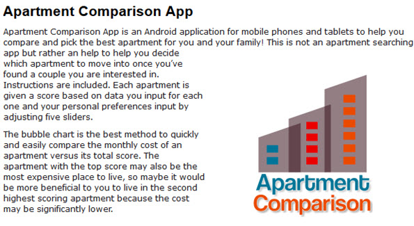 Apartment Comparison App