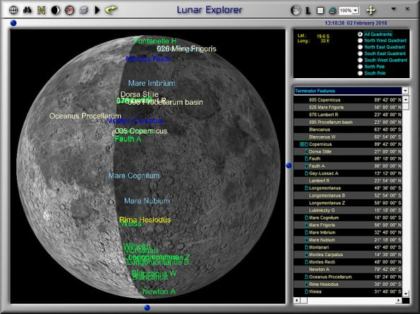 Intermediate and Advanced Moon Observer