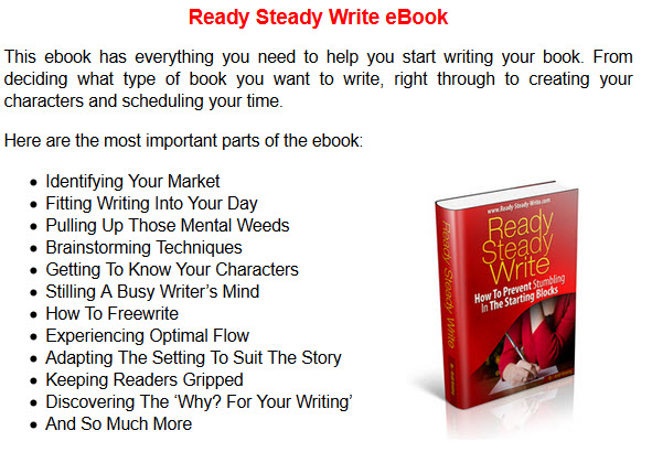 Ready Steady Write eBook