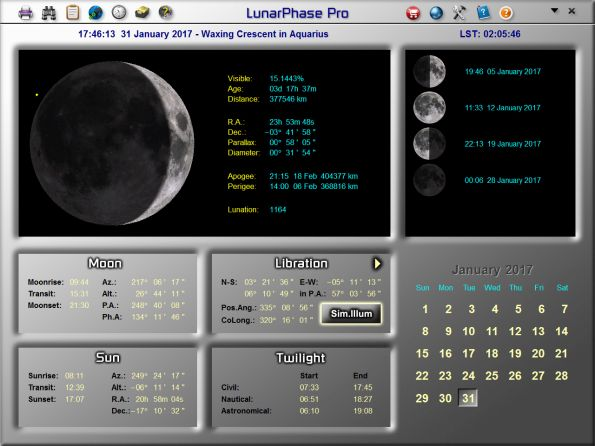 The Moon Predict Moon Phases
