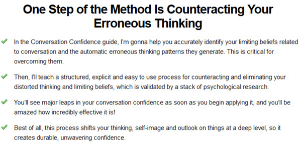 Counteracting Your Erroneous Thinking