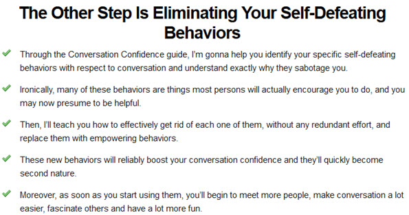 Eliminating Your Self-Defeating Behaviors