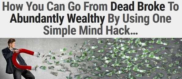 How You Can Go From Dead Broke To Abundantly Wealthy
