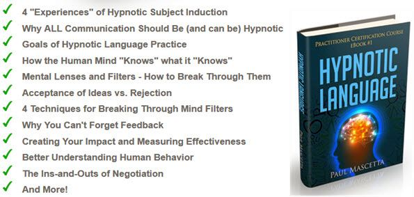 Your Foundation of Hypnotic Language Practice